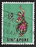 Sellos de Asia - Singapur -  Danza