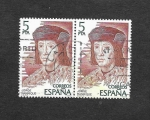 Stamps : Europe : Spain :  Edf 2512 - Personajes Españoles