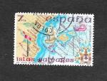 Stamps Spain -  Edf 2622 - España Insular