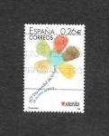 Stamps : Europe : Spain :  Edf 3959 - 50º Día Mundial de la Lepra
