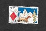 Stamps : Europe : Spain :  Edf 2265 - Santuario de Santa María de la Cabeza