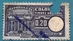 Stamps : America : Colombia :  Timbre Nacional - Capitolio Nacional