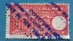 Stamps Colombia -  Timbre Nacional - Capitolio Nacional