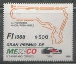 Sellos de America - México -  1988 GRAN PREMIO DE MÉXICO DE FORMULA 1