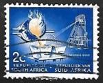 Sellos de Africa - Sudáfrica -  Oro