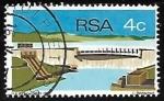 Sellos de Africa - Sudáfrica -  Diques y Represas