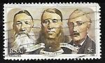 Sellos de Africa - Sudáfrica -  Portrait of the triumvirate