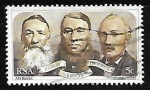 Stamps South Africa -  Portrait of the triumvirate