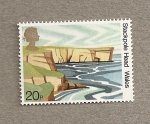 Stamps United Kingdom -  Paisajes