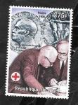 Stamps : Africa : Niger :  Bernardo Houssay, Premio Nobel
