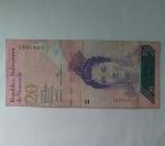 monedas de America - Venezuela -  2007 - 20 bolivares