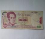 monedas de America - Venezuela -  1995 - 1.000 bolivares