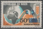 Stamps : Africa : Niger :  EUROPAFRICA 1967