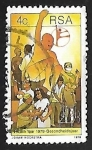 Stamps : Africa : South_Africa :  Year of Health