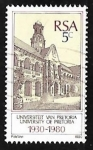 Sellos de Africa - Sudáfrica -  50th Anniversary of Pretoria University