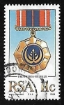 Sellos de Africa - Sudáfrica -  Medallas y Condecoraciones de Honor