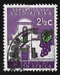 Stamps South Africa -  Groot Constantia