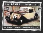 Stamps United Arab Emirates -  Ajman 79 - BMW 327, de 1939