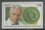 Stamps : America : Cuba :  CUBA 60 ANIVERSARIO DE LA VISITA DEL DR. ALEXANDER FLEMING A CUBA 2013
