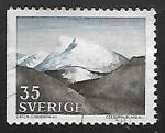Stamps Sweden -  Fell (Fjäll landscape)
