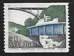 Stamps Sweden -  Acuaducto