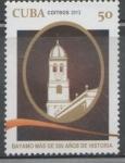 Stamps : America : Cuba :  CUBA BAYAMO MÁS DE 500 AÑOS DE HISTORIA 2013