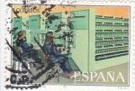 Stamps Spain -  MECANIZACIÓN DIGITAL (33)