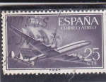 Stamps : Europe : Spain :  AVION (33)