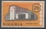 Stamps : Africa : Nigeria :  NIGERIA CENTRAL BANK SOBRECARGADO COMMONWEALTH...