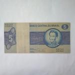 monedas del Mundo : America : Brasil :  5 cruzeiros