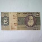 monedas de America - Brasil -  10 cruzeiros