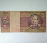 monedas del Mundo : America : Brasil :  100 cruzeiros