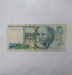 monedas del Mundo : America : Brasil :  200 cruzeiros