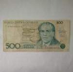 monedas de America - Brasil -  500 cruzeiros