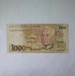 monedas del Mundo : America : Brasil :  1.000 cruceiros