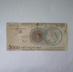 monedas de America - Brasil -  5.000 cruzeiros