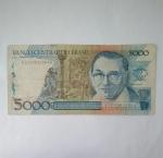 monedas del Mundo : America : Brasil :  5.000 cruzeiros