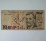 monedas del Mundo : America : Brasil :  10.000 cruzeiros