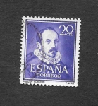 Stamps : Europe : Spain :  Edf 1074 - Literatos
