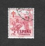 Stamps Spain -  Edf 1103 - Pro Tuberculosos