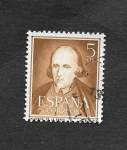 Stamps Spain -  Edf 1071 - Literatos