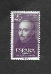 Stamps : Europe : Spain :  Dia del Sello. IV Centenario de la muerte de San Ignacio de Loyola.