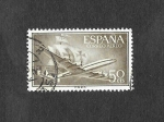 Stamps Spain -  Edf 1171 - Superconstelacion y Nao Santa María