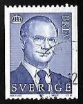 Sellos de Europa - Suecia -  King Carl XVI Gustaf
