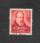Stamps : Europe : Spain :  Edf 1370 - IV Centenario del Nacimiento de Luis de Góngora y Argote