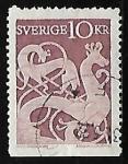 Sellos de Europa - Suecia -  Picture on stone