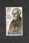 Stamps : Europe : Spain :  Edf 1679 - Forjadores de América