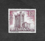 Stamps : Europe : Spain :  Edf 1881 - Castillos de España