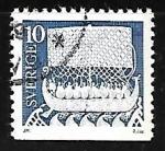Stamps Sweden -  Ancient Art