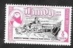 Sellos de Europa - Reino Unido -  Lundy - Marisquería, Catedral y Oficina Correos